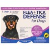 Vetri-Science, Flea + Tick Defense for Dogs 89-132 lbs., 3 Applicators, 0.136 fl oz Each