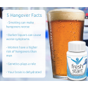 Fresh Start Detox & Hangover Relief 50 Capsules NEW! TRY IT! *MONEY BACK GUARANTEE OFFERED *