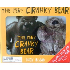 he Very Cranky Bear Nick Bland Book + Soft Toy Plush Gift Boxed Set
