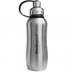Think Thinksport Insulated Sports Bottle Silver 25 oz (750 ml)