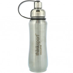 Think Thinksport Insulated Sports Bottle Silver 17 oz (500ml)