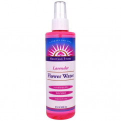 Heritage Store Flower Water Lavender 8 fl oz (240 ml)
