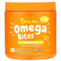 Zesty Paws, Omega Bites for Dogs, Skin & Coat, All Ages, Chicken Flavor, 90 Soft Chews
