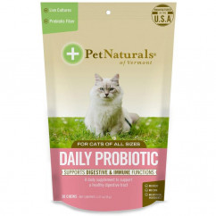 Pet Naturals of Vermont Daily Probiotic For Cats 30 Chews 1.27 oz (36 g)