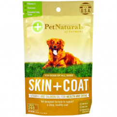 Pet Naturals of Vermont Skin + Coat For Dogs 30 Chews 2.12 oz (60g)
