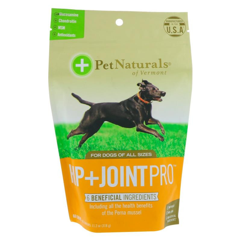 Pet Naturals of Vermont Hip + Joint Pro For Dogs 60 Chews 11.2 oz (318 g)
