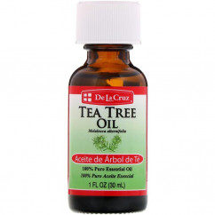 De La Cruz Tea Tree Oil 100% Pure Essential Oil 1 fl oz (30 ml)