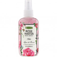 De La Cruz Rose Water Body Spray 8 fl oz (236 ml)