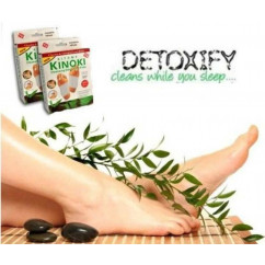 Kiyome Kinoki Cleansing Detox Herbal Foot Pads 10 Pads ***HOT PRICE***
