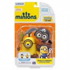 Minions - Deluxe Action Figure - Build-A-Minion Pirate/ Cro-Minion