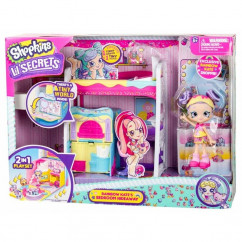 Shopkins little secrets series bedroom hideaway playset