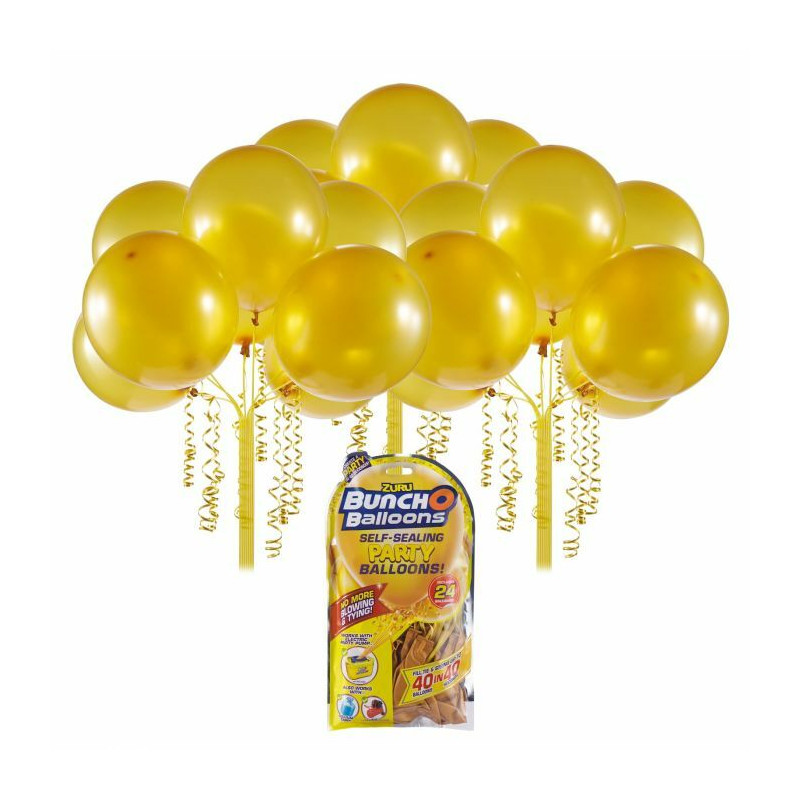 Bunch O Balloons Self Sealing Balloons 24 pack - Gold