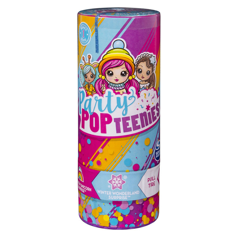 Party Popteenies Surprise Popper - Assorted - Six pack