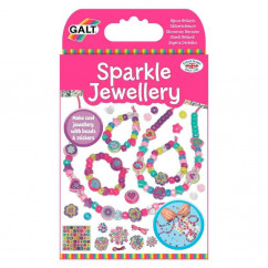 Galt DIY Sparkle Jewellery with Beads & Stickers