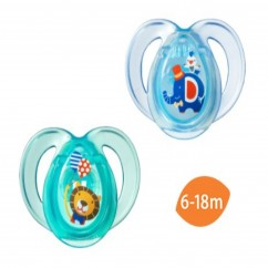 Tommee Tippee, Close To Nature, Every Day Pacifiers Orthodontic - 2 Pacifiers 6-18 Months