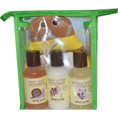Little Twigg, Travel Basics Full Set, Lavender Bee, 4 Piece Set