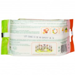 Aleva Naturals, Bamboo Baby, Pacifier & Toy Wipes (15cm x 20 cm) 30 Wipes