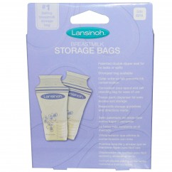 Lansinoh, Breastmilk Storage Bags, 25 Pre-Sterilised Bags