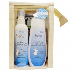 Babo Botanicals, Lice Prevention Essentials,. Gift Pack, 2 Pieces + Nit