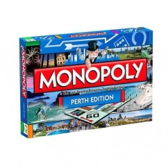 Monopoly Perth Edition Board Game