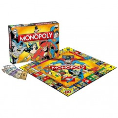 Monopoly DC Comics Originals Edition Board Game