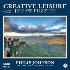 Creative Leisure Three Sisters Blue Mountains NSW (Philip Johnson) 1000 Pieces Jigsaw Puzzle 12+ Years *New