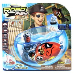 Zuru - RoboFish Pirates Bowl & Castle Playset