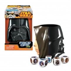Star Wars Face Off Dice Game Licenced - Assorted