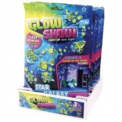 Glow Show Glow in the Dark Sticker Pack - Assorted