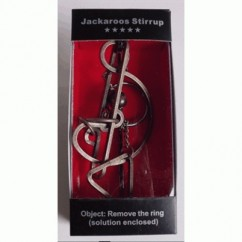 HERITAGE Metal Puzzles - Jackaroos Stirrup With Metal Stand