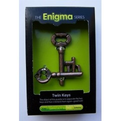 Enigma Series - Twin Keys Puzzle