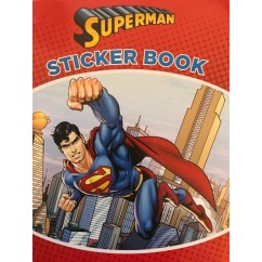 Superman Sticker Book NEW!