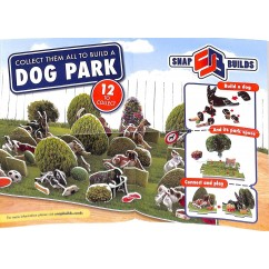Snap Builds Dog Park 18 Sealed Packs (puzzle pieces)