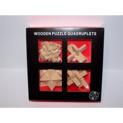 Le Mi Arts Series - Wooden Puzzles Set of 4