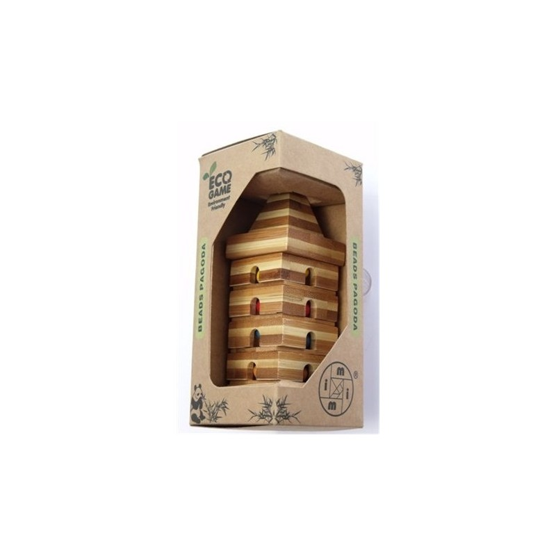 """Bamboo Puzzles """"ECO Series"""" - Screw Tower 1"""