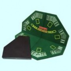 World Poker Table - Top - Hexagonal & folding Size 47""