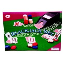 Roulette Set - Blackjack Set Deluxe - Boxed