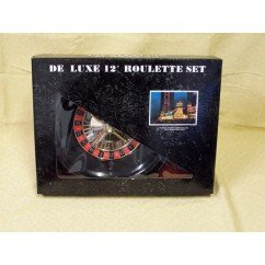 Roulette & Blackjack - Roulette Set, Deluxe, Boxed, 12""