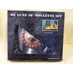 Roulette & Blackjack - Roulette Set, Deluxe, Boxed, 16""