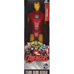12 inches Titan Hero Series Marvel the Avengers Wolverine Figures PVC Toys - Iron Man