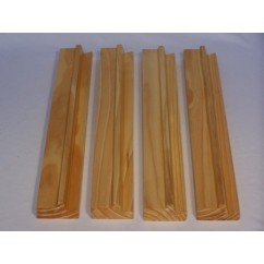 Mahjong, Wood Racks, Set of 4