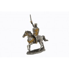 Dal Rossi Pewter CROSS ARMY-RAISING SWORD Pewter Figurines height from 110mm to 160mm