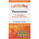 Natural Factors, CurcuminRich, Theracurmin, 60 Vegetarian Capsules