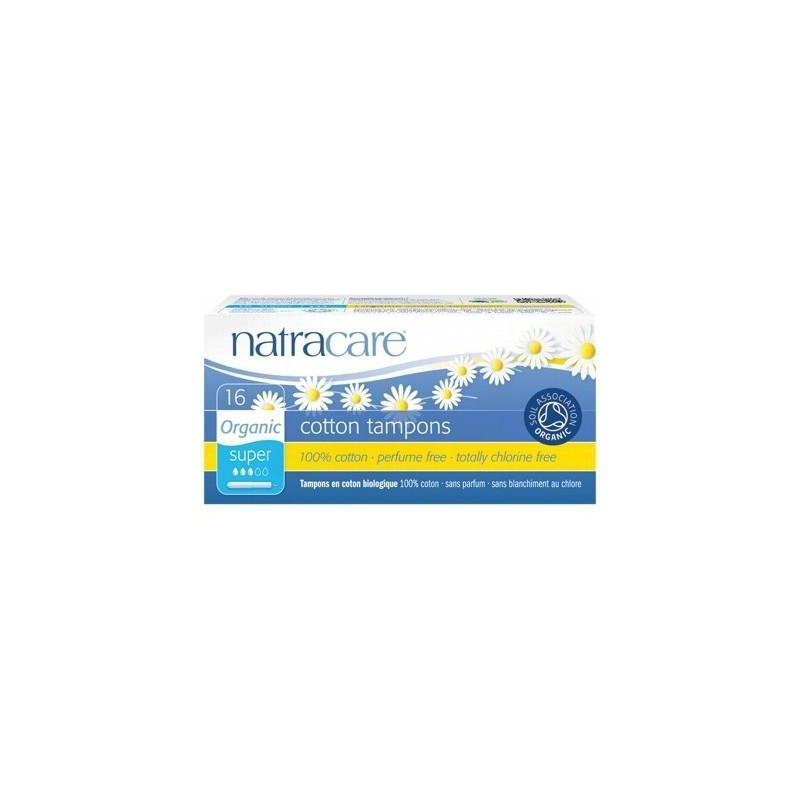 Natracare Tampons Applicator Super 16s
