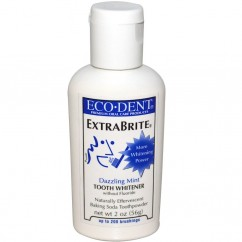 Eco-Dent, ExtraBrite, Dazzling Mint, Tooth Whitener, Without Fluoride, 2 oz (56 g)