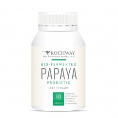 Rochway Papaya (Paw Paw) Leaf Extract 60 Capsules