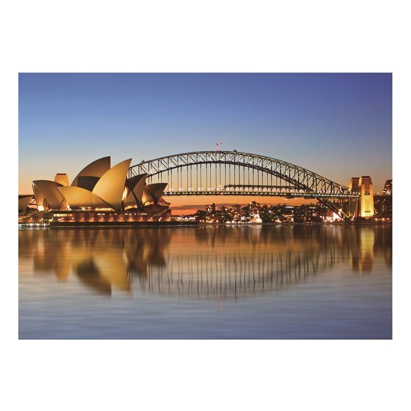 Sydney Opera House (Made From High Quality European Blue Board) 1000 Pieces