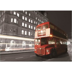 Jigsaw Puzzle London Bus (Made From High Quality European Blue Board) 1000 Pieces ***FLASH SALE ***