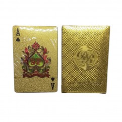 Dal Rossi Italy Luxury 24k 99.9% Genuine Gold Plated Playing cards. ***FLASH SALE***