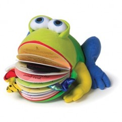 Monday The Bullfrog (Book & Plush Toy)